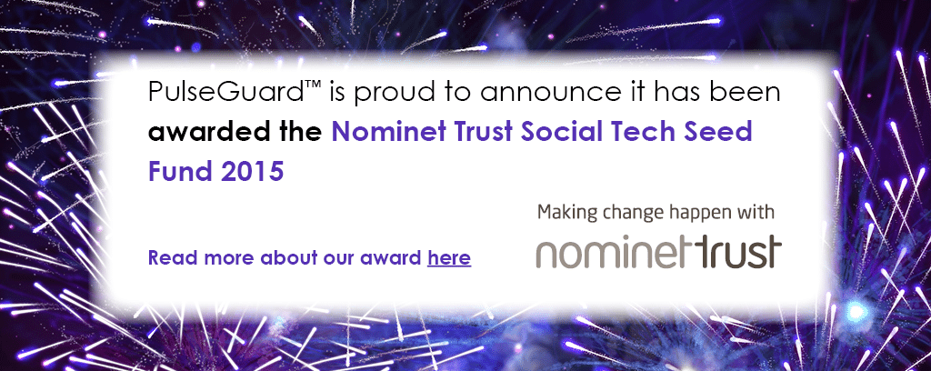 Nominet award website slide